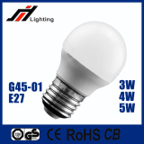 2016 hot sale G45 3W 85-265V E27 led light bulb