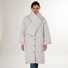 Doudoune d'hiver blanche