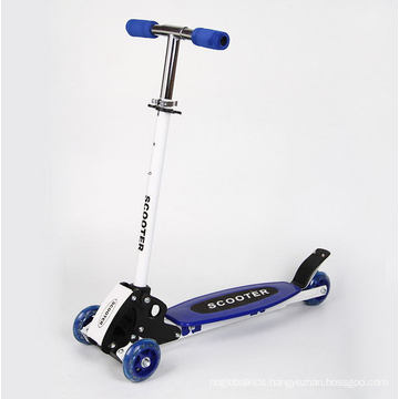 New Folding 3 Flashing Wheel Children Scooter Adjustable for 3-8year