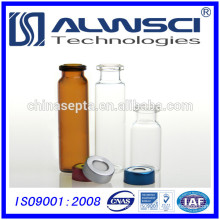 20ML Clear vial Headspace vial crimp vial for GC