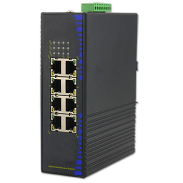 Switch Ethernet industriel rapide à 8 ports