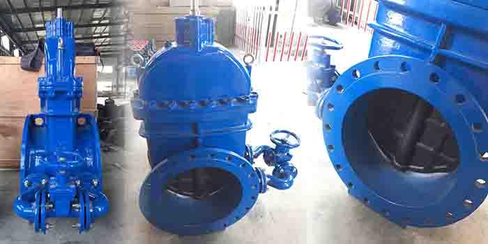 large gate valve