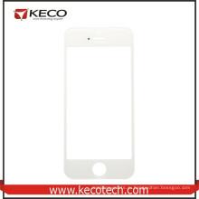Китай оптом для iphone 5s Передний сенсорный экран стеклянный объектив Белый