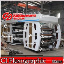 Полиэфирное Волокно Терилен Flexographic Печатная Машина