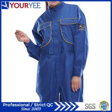 Combinaisons bleues pour les vêtements de travail à la mode (YLT116)