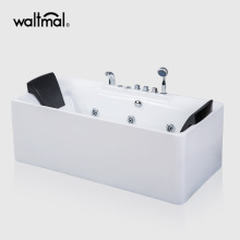 Acero One-Piece Freestanding Whirlpool Bathtub