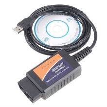 OBD2 Elm327 USB Plastic Scanner 25k80 and FT232rl Chip