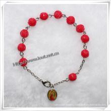 New Design Christian Picture Rosary Bracelet Wholesale (IO-CB062)
