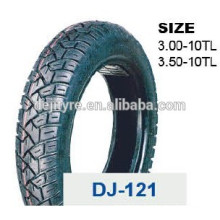 wholesale high quality tubeless motorcycle tires 3.50-10
