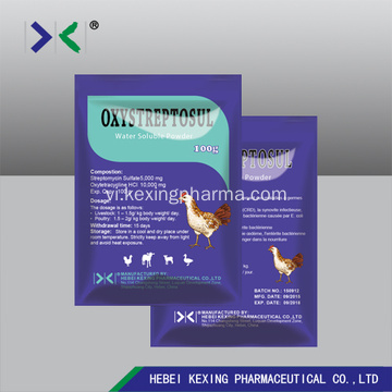 Gia súc Oxytetracycline Hcl Powder