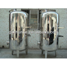 High Durable 5t Polishing Stainless Steel Machanical Filter Housing