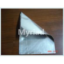 Folha de alumínio com isolamento de fibra de vidro revestido PE fabricante