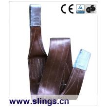 GS CE Certificat sangle Sling 6tx1m Facteur de sécurité 7: 1