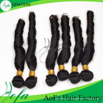 Extensão de alta qualidade do cabelo de Remy do cabelo humano do Virgin