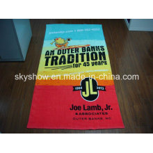 100% Cotton Velour Reactive Printed Sports Towel