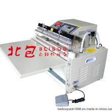 Máquina elétrica elétrica e pneumática de empacotamento a vácuo