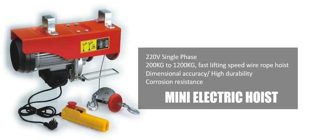MINI ELECTRIC HOIST (5)