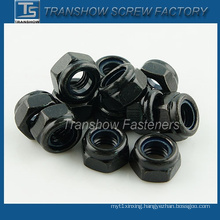Black Coated Nylon Insert Lock Nut (DIN985)