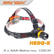 Maxtoch HE5Q-5 120 Lumens AAA bateria Zoom caça levou do farol