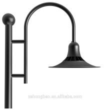 Alibaba europe lampadaire de jardin LED blanc cool 5000k bridgeLux puce LED 90-100Lm / w