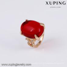 14740 xuping jóias 18 k banhado a ouro moda nova e elegante anel de ouro projeta anel de dedo para as mulheres