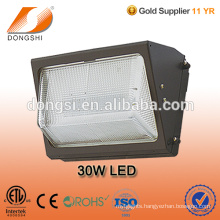 Semi-cutoff entrance ways LED exterior Wall Pack fixture with a borosilicate lens