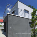 Outdoor Wpc Wall Panel /composite Exterior Wall Siding