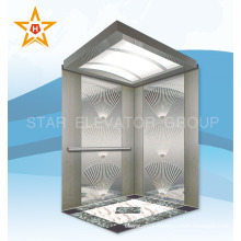 Small machine room 1250KG 16persons passenger residential elevator