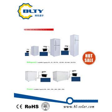 Nuevo producto Refrigerador Solar 93L 140L 190L 230L 282L