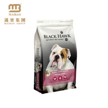 El diseño personalizado imprimió el bolso de empaquetado del alimento de perro del animal doméstico de la alimentación animal de la alimentación del animal doméstico de la cremallera que se puede volver a sellar