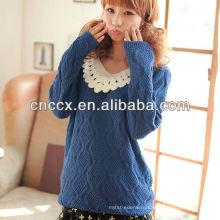 12STC0646 кружево перловой красивые девушки свитера