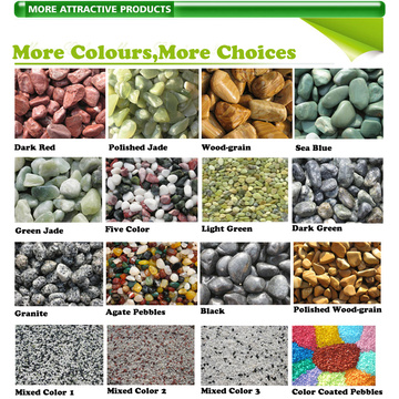 Dekorasi Landscaping Mini Stones Colorful Rocks