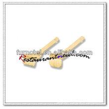 V534 Pinceau à pâtisserie en laine courte de qualité spéciale