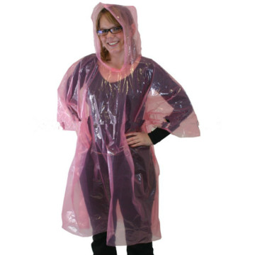 Ponchos Rainbow Adult Disposable Transparent