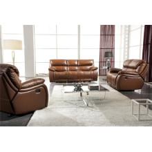Sofá de sala de estar de couro genuino (904)