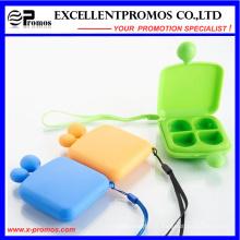 Pillbox encantadora portable de la cara de la sonrisa de la alta calidad de la promoción (EP-007)