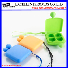 Promotion High Quality Smile Face Portable Lovely Pillbox (EP-007)