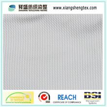 Tissu en soie en taffetas avec jacquard (100% soie)