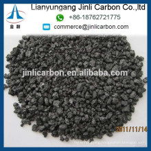 China high quality GPC low sulphur petroleum coke FC98.5% 1-5mm for foundry and steel making