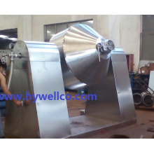 Double Cone Vacuum Dryer for Lead Powder