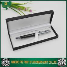 Conjunto de canetas de metal para placa de cartão