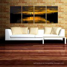 Quadros de parede de parede - quadros de parede da praia e do por do sol