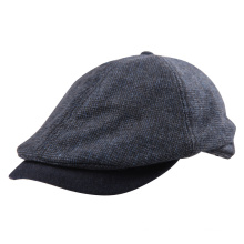 Embroidery & Print Check Nylon Fashion Sport Golf Beret