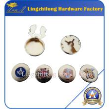 Кнопка Масонские Логотип Золотой Запонки Значок