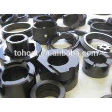 Ceramic graphite crucible