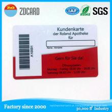 13.56 MHz RFID Controle de Acesso Smart ID Card com Stip Magnética