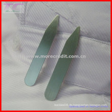 Custom Logo Metall Kragen Aufenthalt / Shirt Kragen Aufenthalt für High-End Qualität Shirt (TC-LA1008)