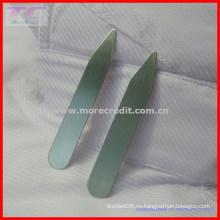 Personalizado de metal Logo Collar Stay / Shirt Collar estancia de alta calidad de calidad camisa (TC-LA1008)