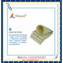 Agulha de fibra de vidro de alta temperatura feltro saco de filtro de poeira