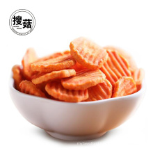 VF Carrot vegetable chips with quality certificates